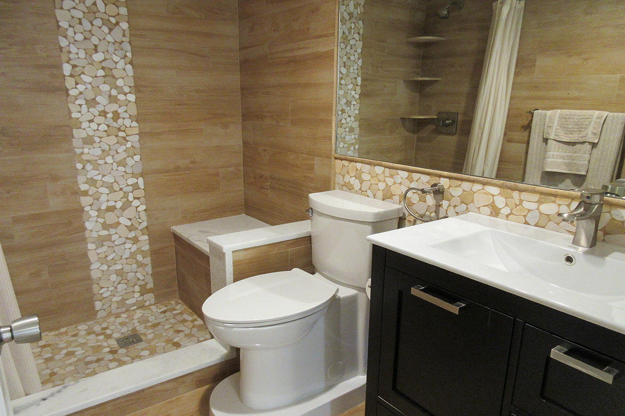 Professionally Designed Guest Bath with Walk In Shower