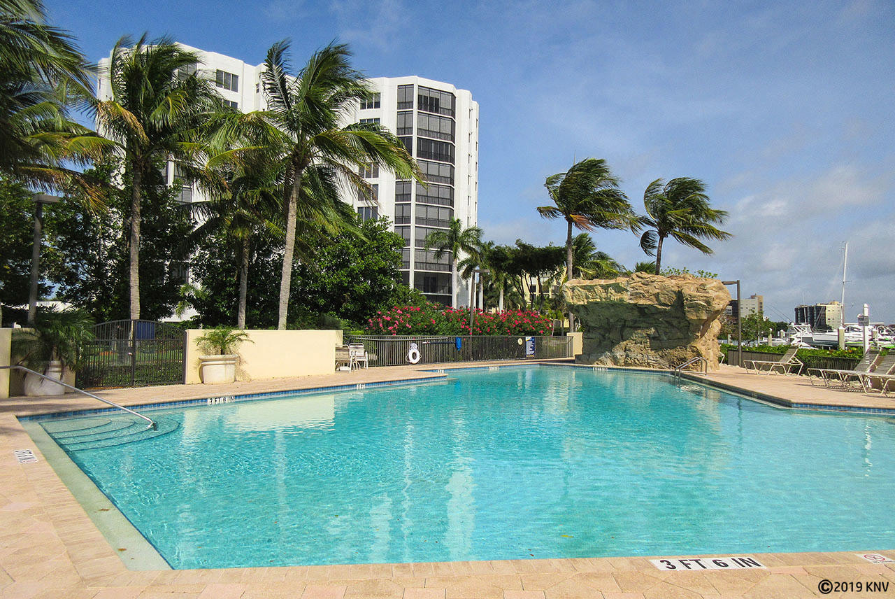 Amenities at Waterside I include a resort sized heated pool