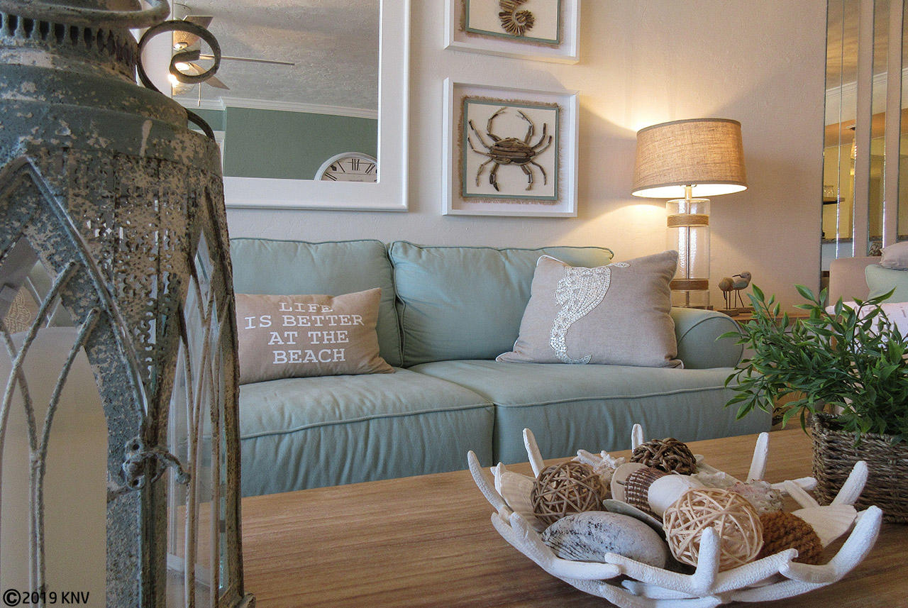 Stylish coastal touches are sure to delight