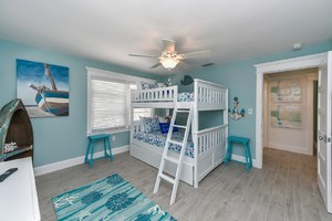 Bunk Bed -Full Over Full Bunk Bed with Pull Out Full Trundle
