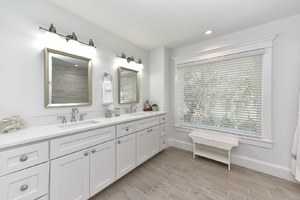 Huge Master Bath with Dual Sinks, and Walk in Shower