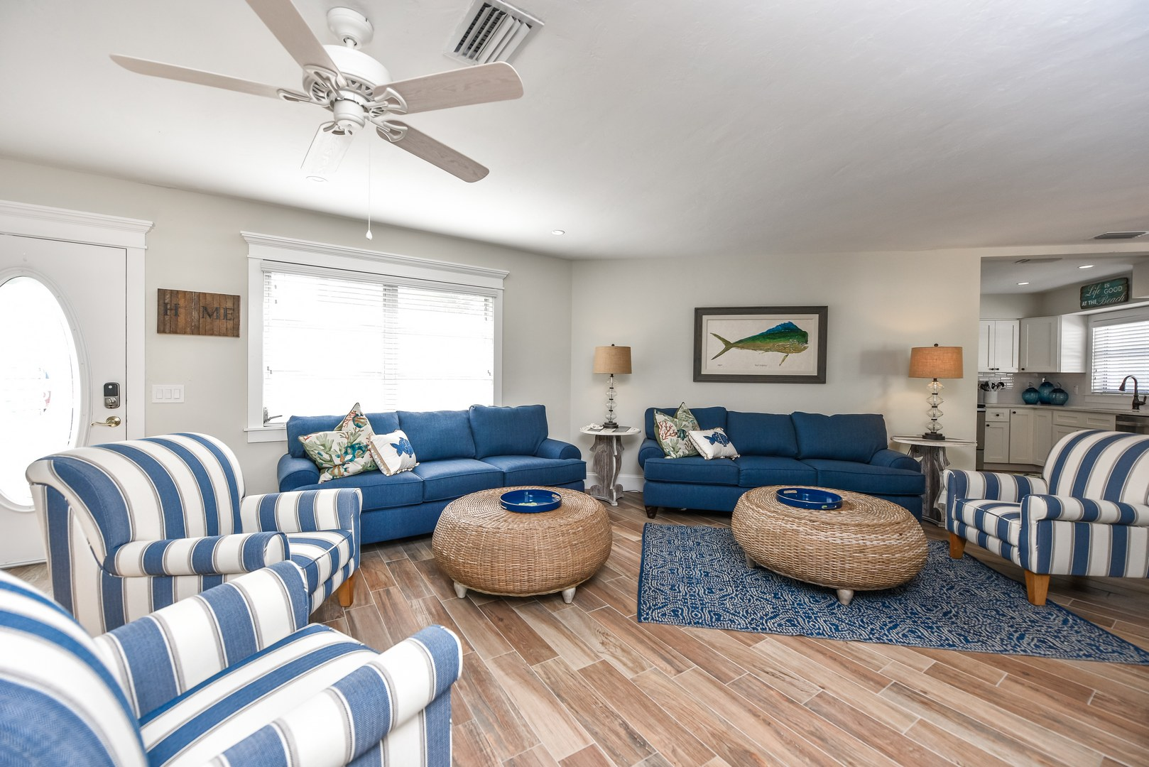 Plenty of Seating in the spacious Living Room
