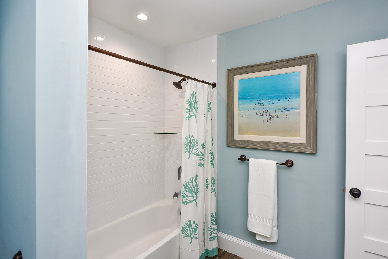 Shower and Tub combination in Main Bath