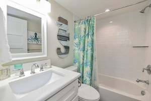 Bathroom 3 - Located off Living Area Across from Bunk Room
