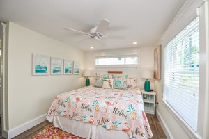 Master Bedroom - King Bed with Festive Decor and Linens