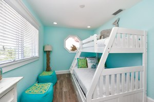Bedroom 4 - Twin over Full Bunk Bed with Twin Trundle