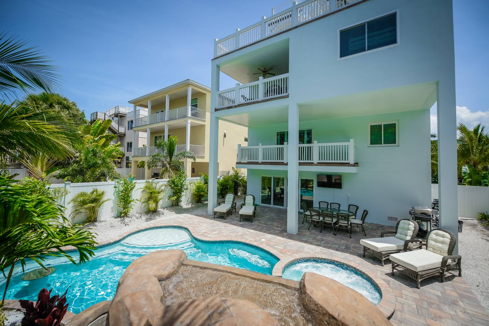 Heated Pool and Spa, Slide, Gratto, and more