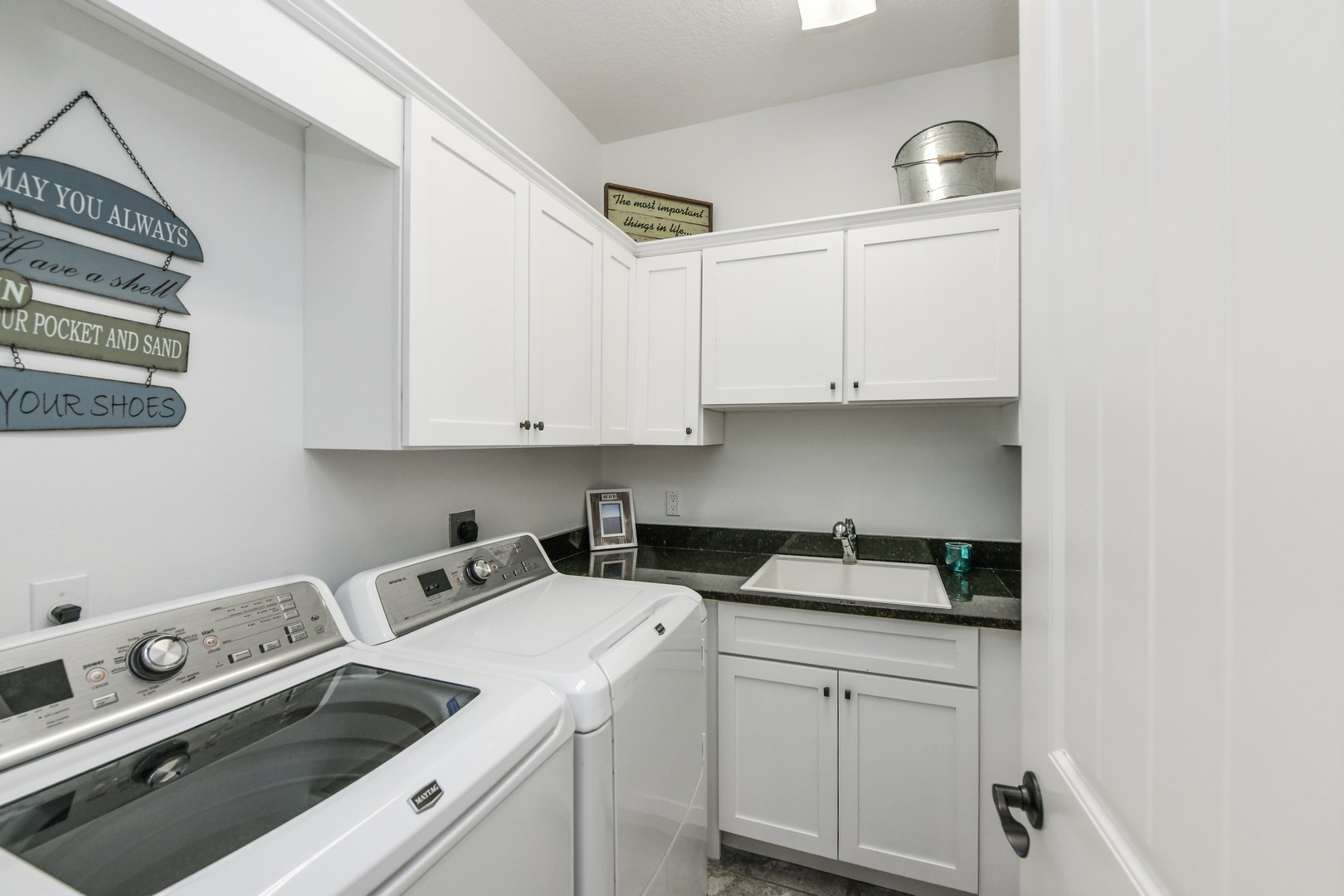 Laundry Room and Utility Sink
