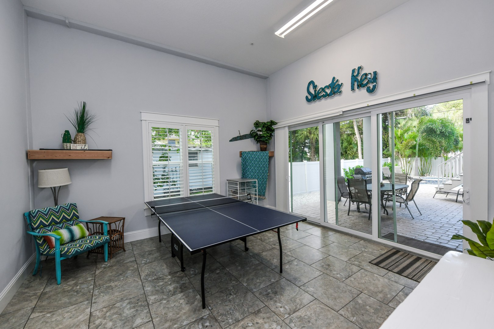 Ping Pong Game Room
