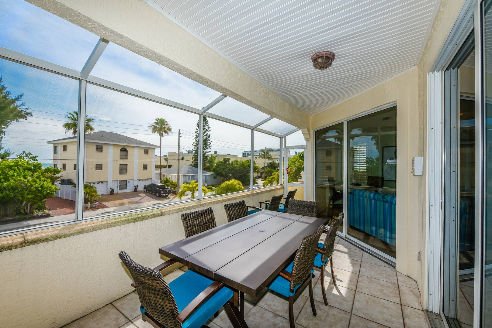 Balcony space off Living Room - Great for Dining and Sunset