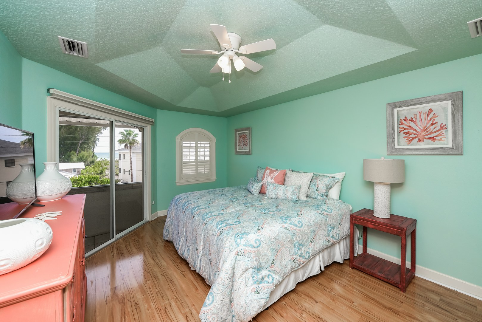 Bedroom 2 - Gulf View - Private Balcony
