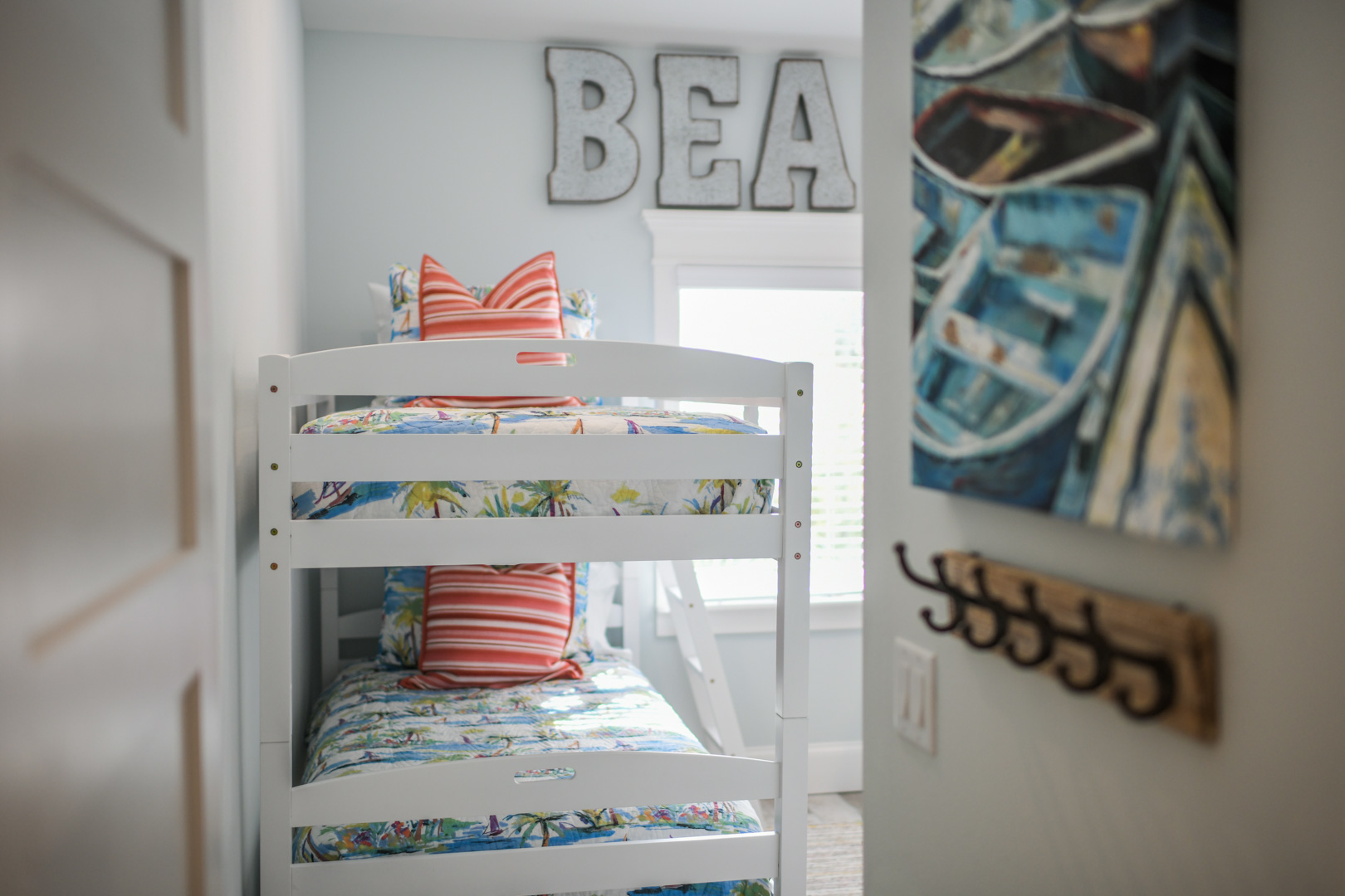 Entry to bunk bed room