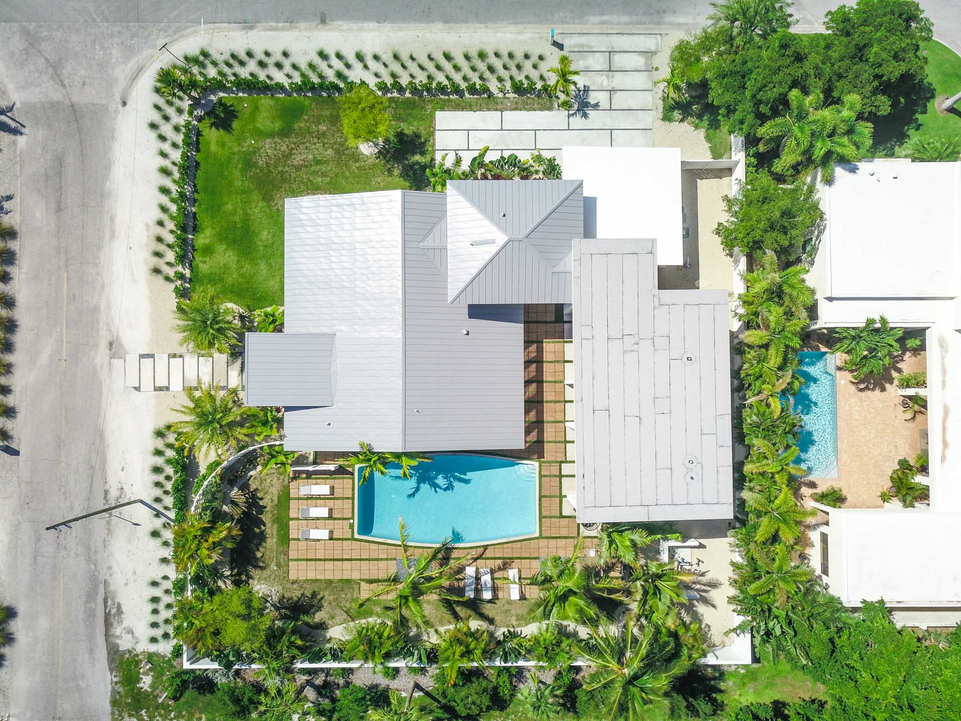 Aerial of the Home