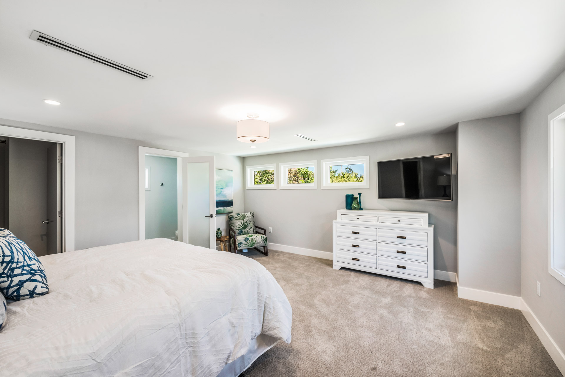 Master With King Bed and Storage