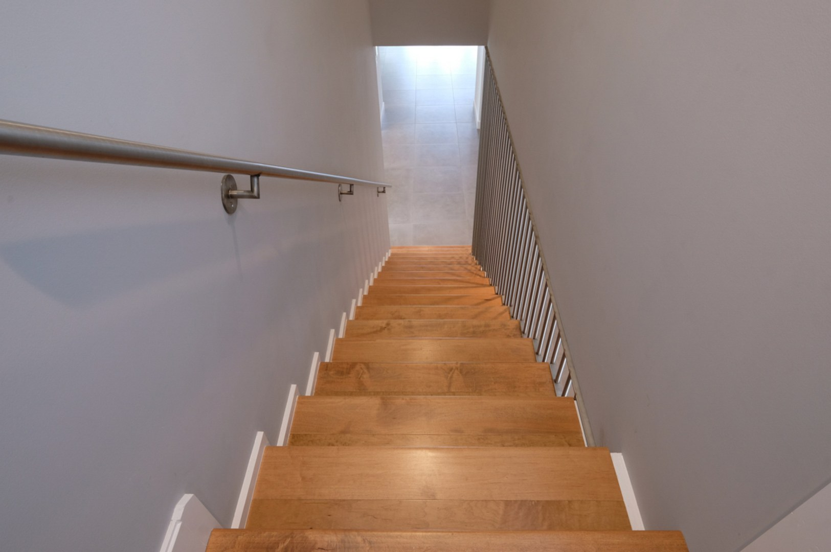 Stair Case to Second Floor Master Suite