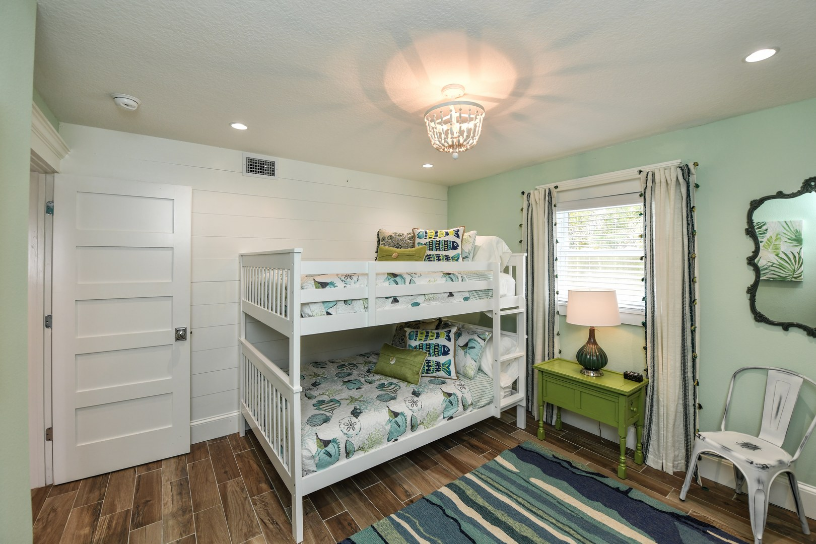 Example bunk bed room