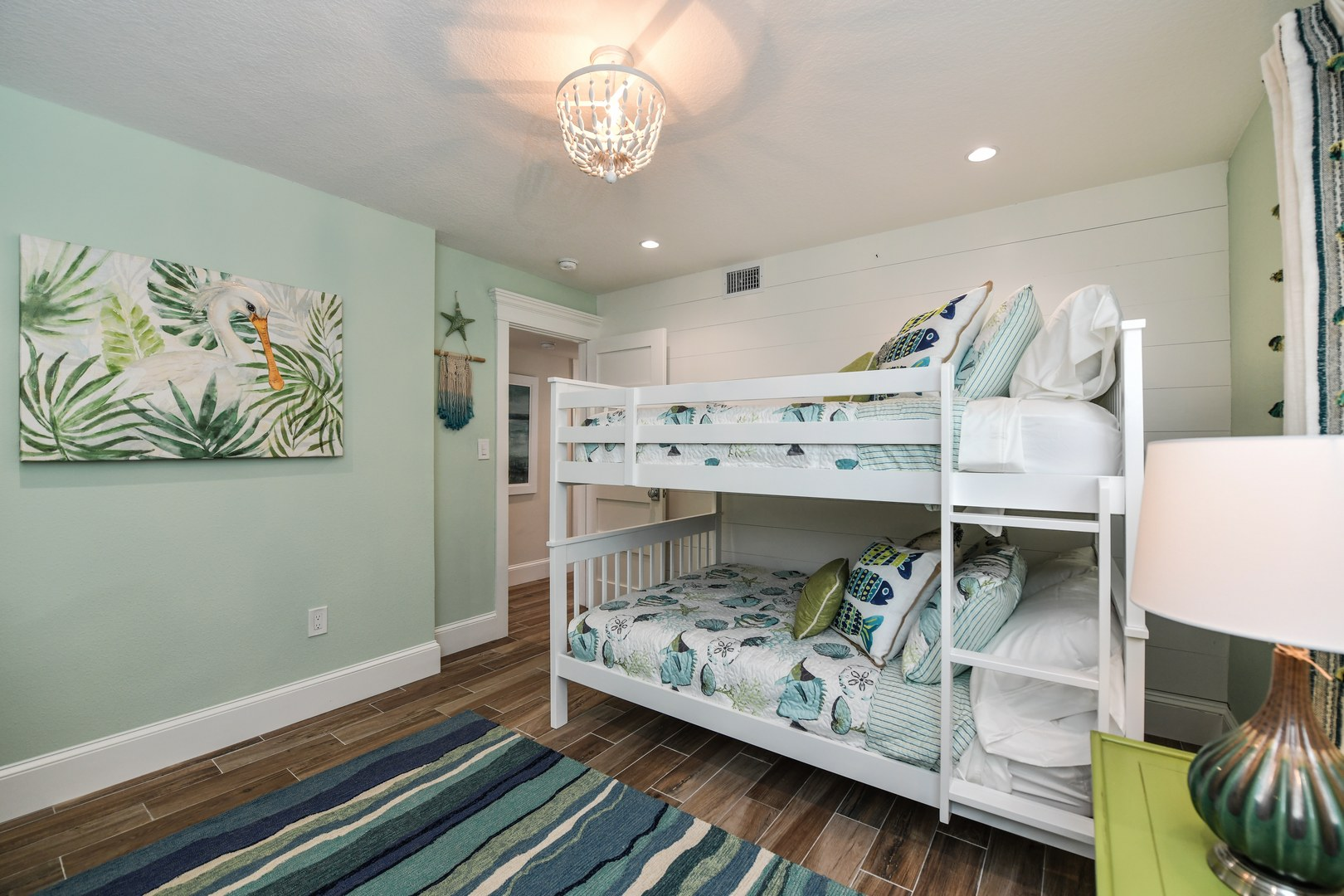 Example- Bedroom 6 - Full Bunk w/ Trundle