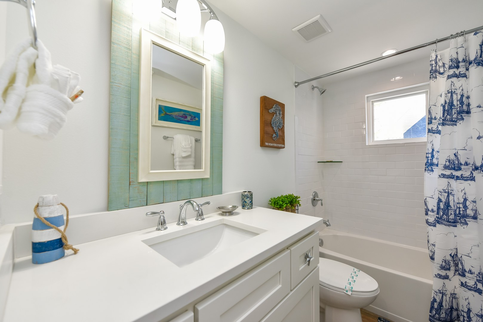 EXAMPLE - Private Bath 2 - Shower/Tub combo