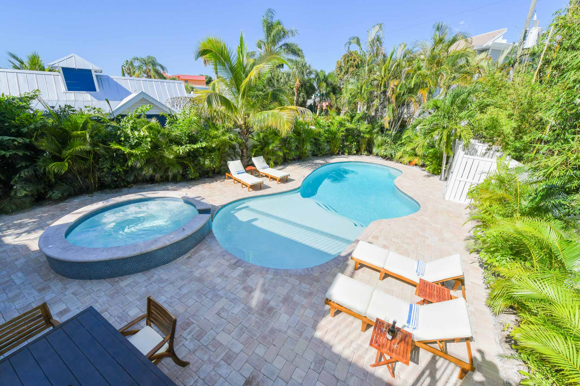 Example Photo - Private Heated Pool and Spa