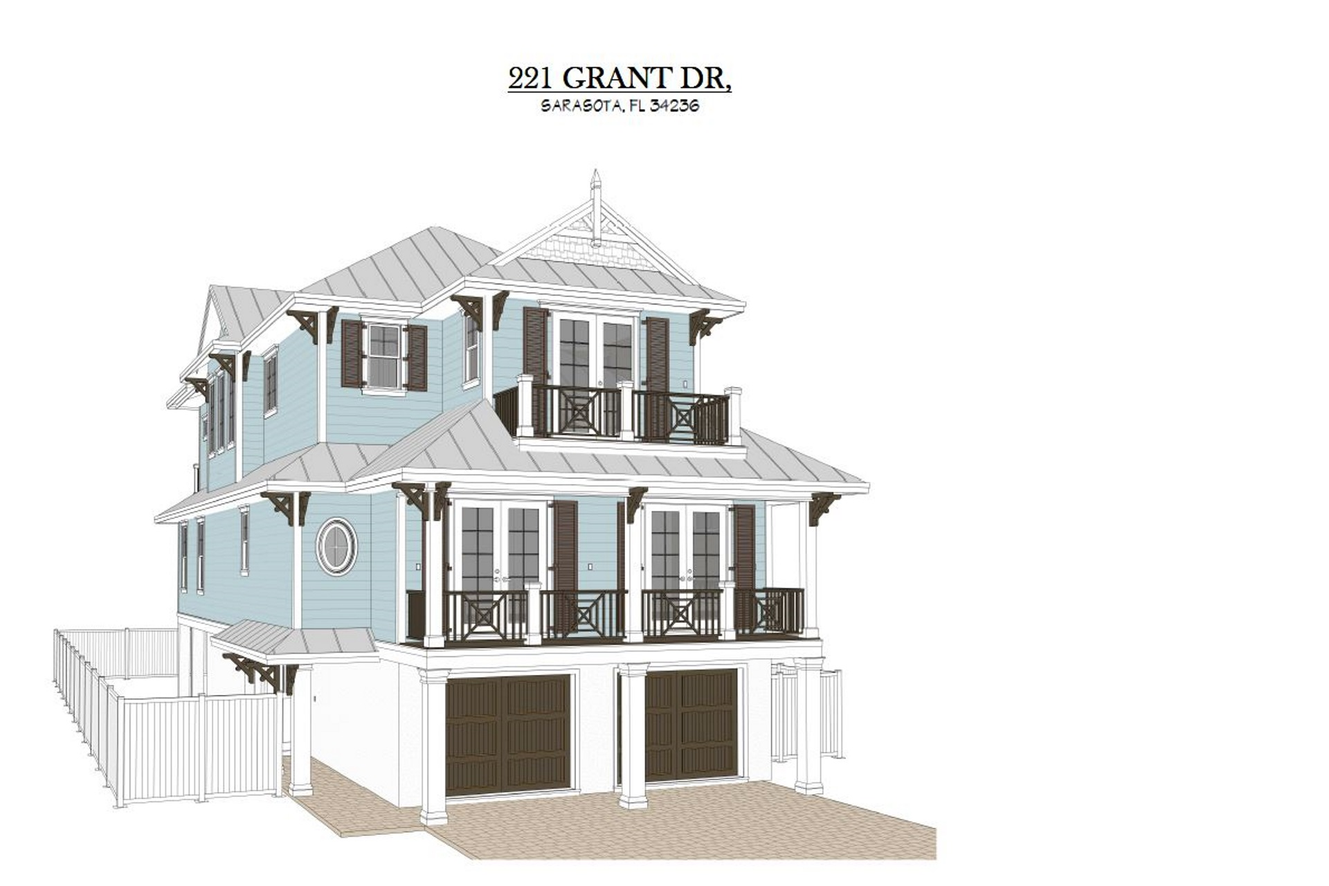 221 Grant - Front Elevation