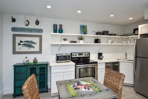 Fully Stocked and high end Stainless Steel appliances