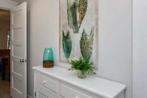 More Storage and Art for your Master Bedroom Entrance