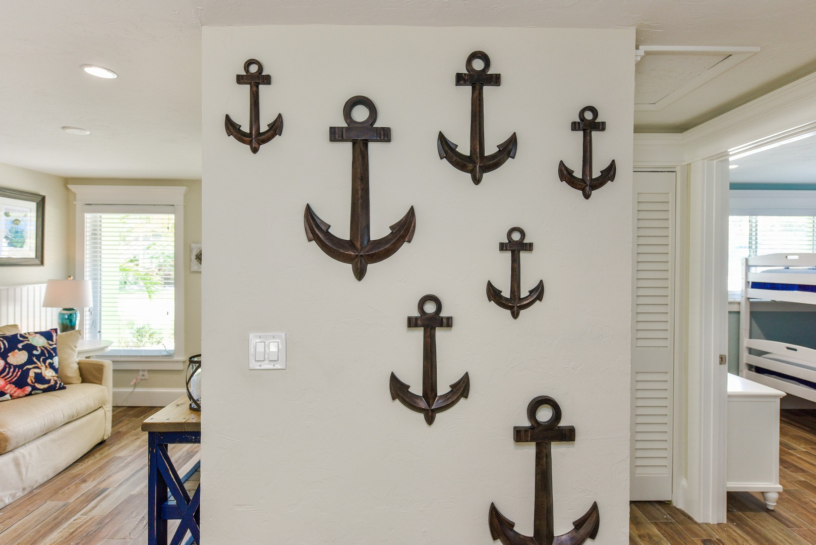 Great Nautical Decor for the Crab Shack