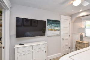 Bedroom TV makes for an Easy Movie Night