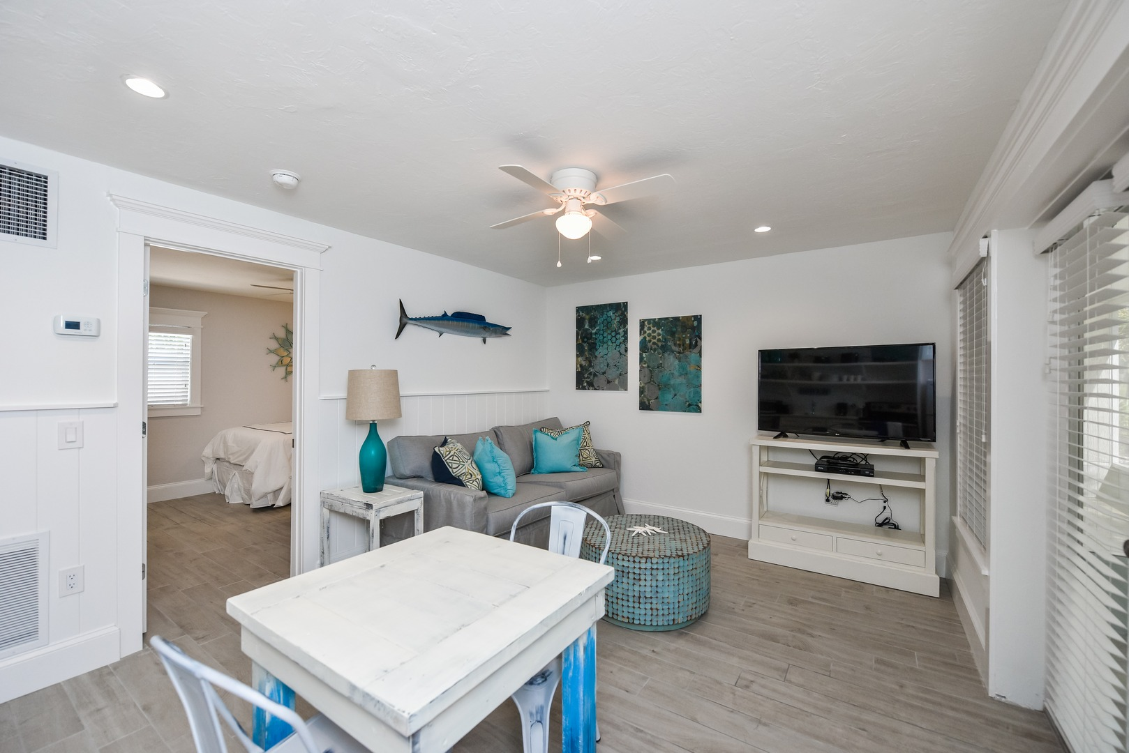 Great Room - Living, Dining, and Kitchen