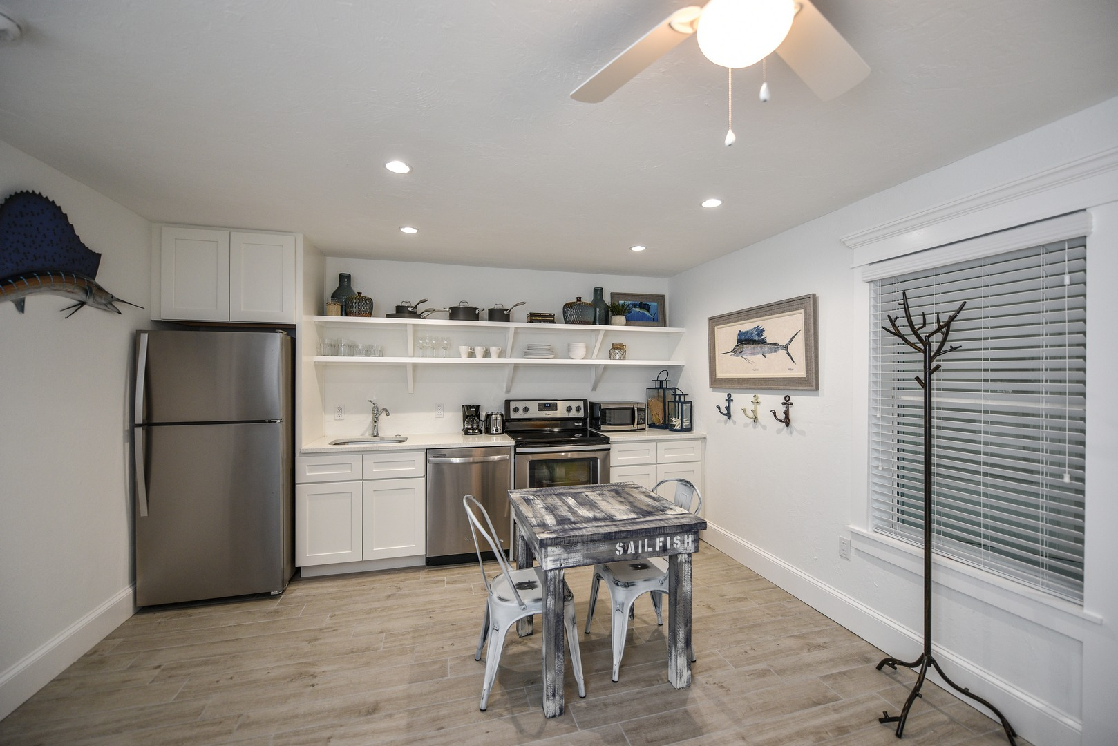 Large Great Room with Living, Dining, and Kitchen Combined