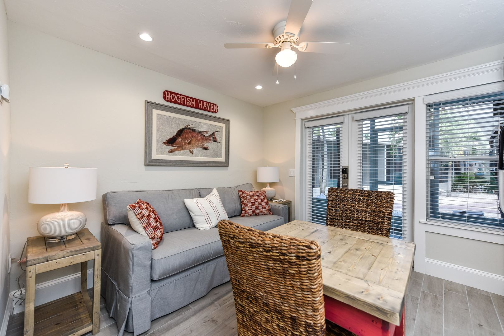 Great Room with Living, Dining and Kitchen Combo
