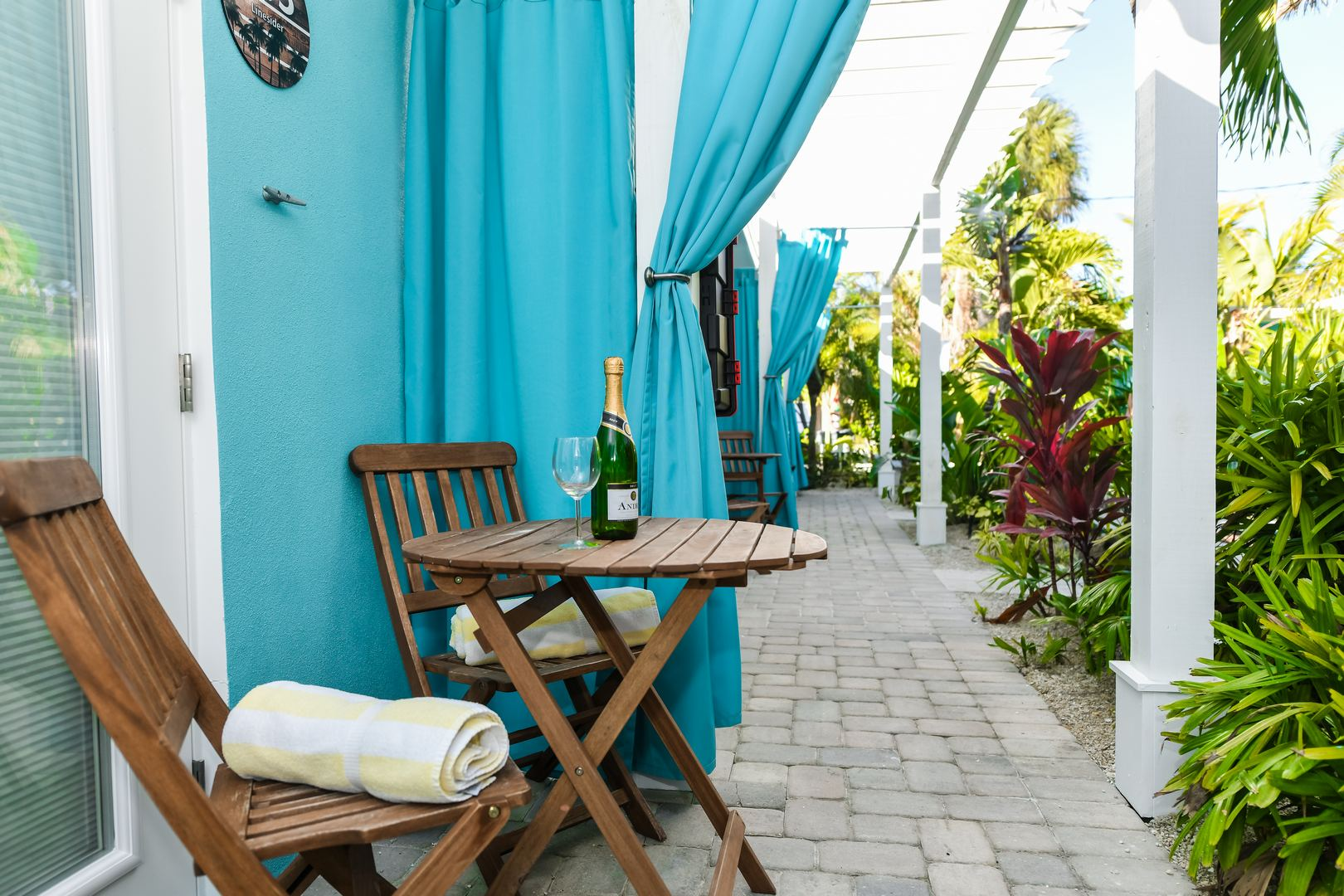 Private Patio for Your Resort Room w/ Great Courtyard Views