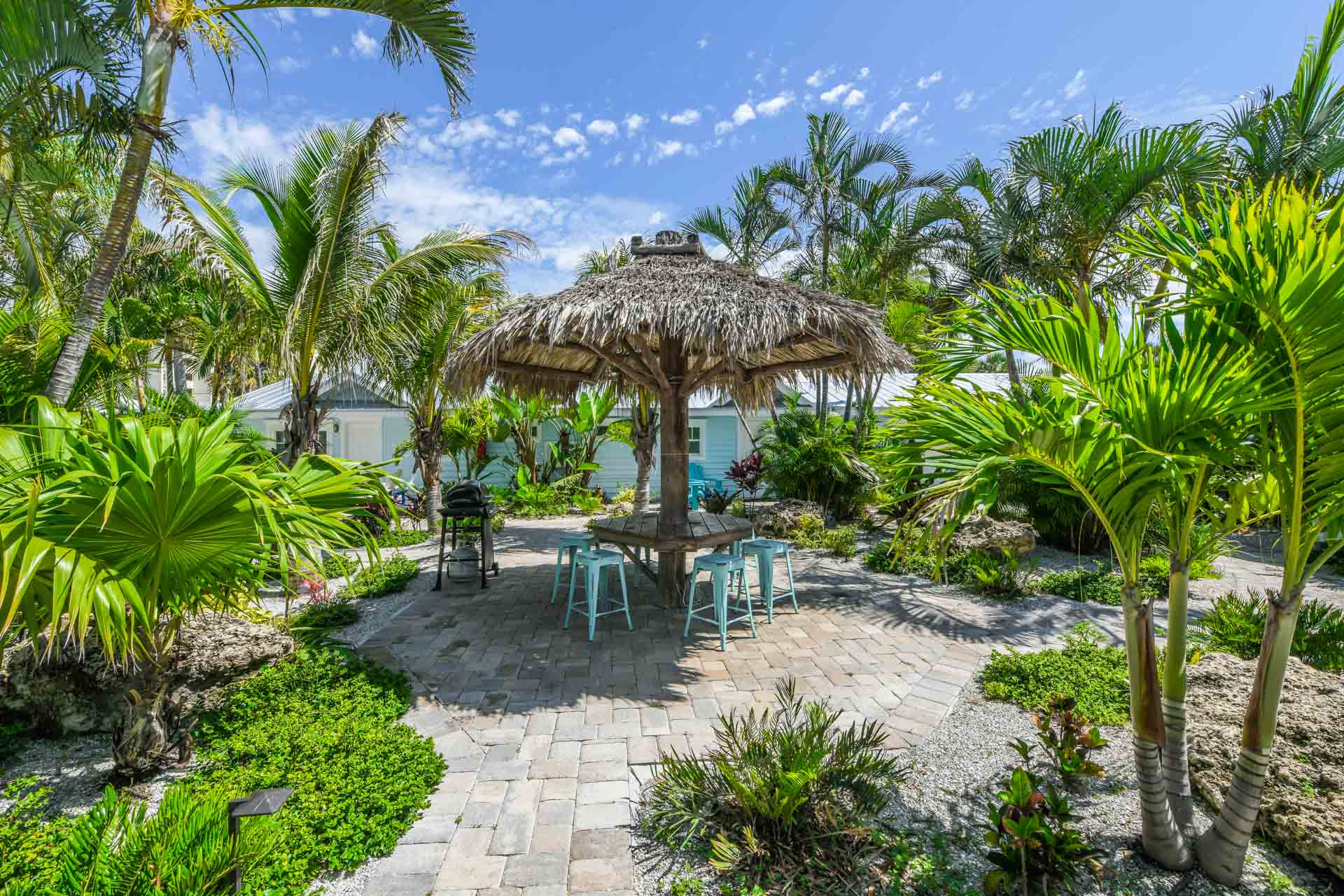 Outdoor Seating - Tiki Hut - Grills - Privacy