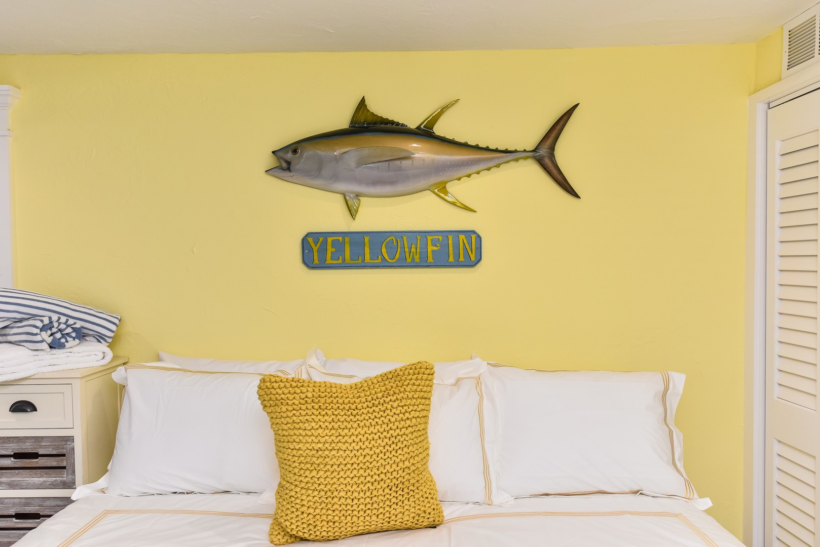 The Yellow Fin - Sleep in Comfort - Upgraded Linens