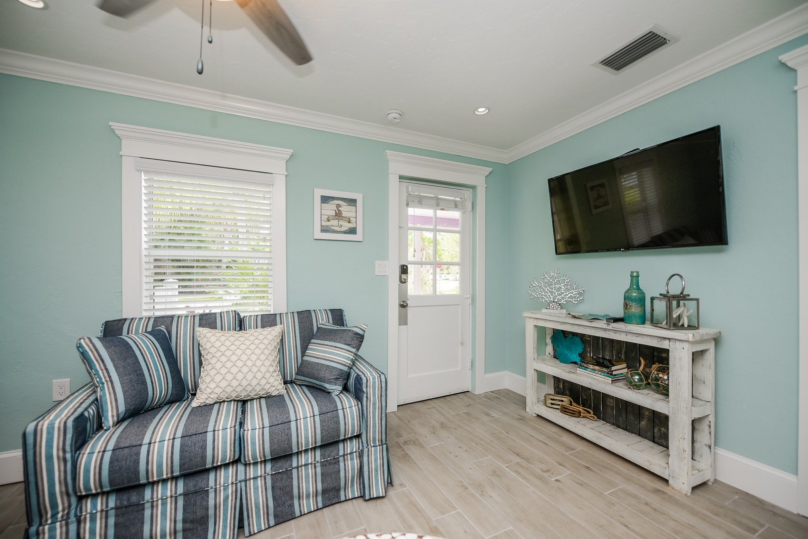Entry Way and Entertainment Center