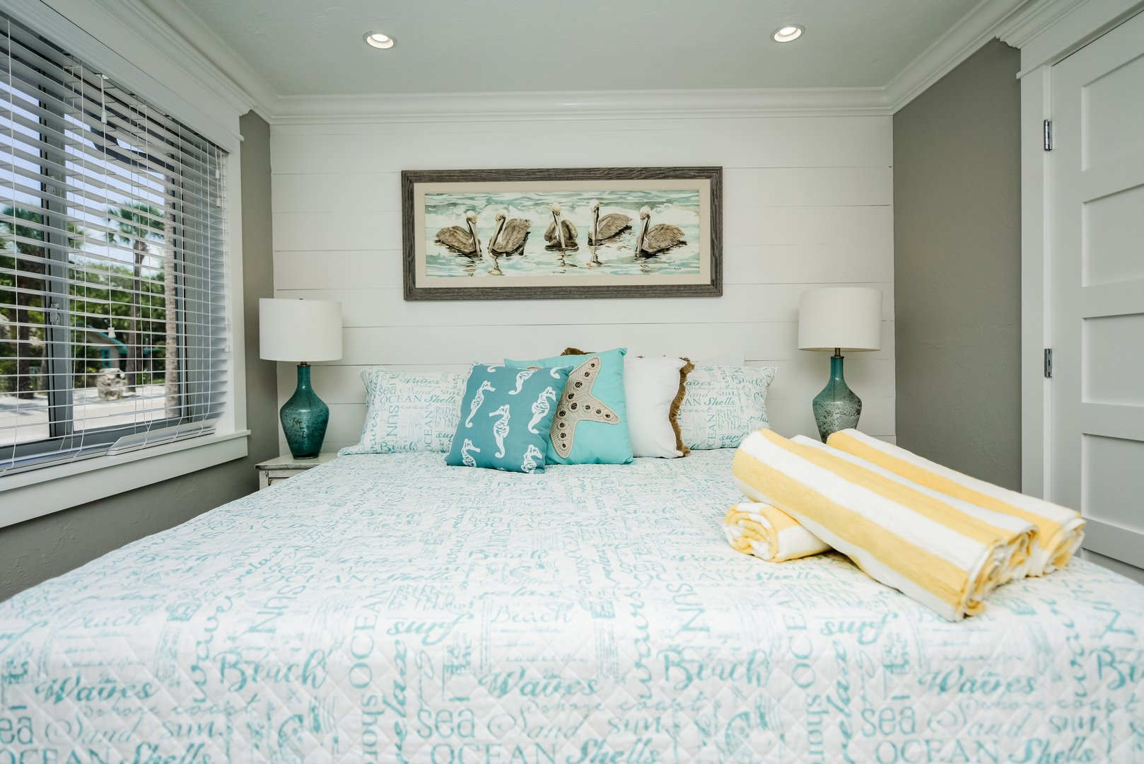Comfortable King Mattress and Upgraded Linens
