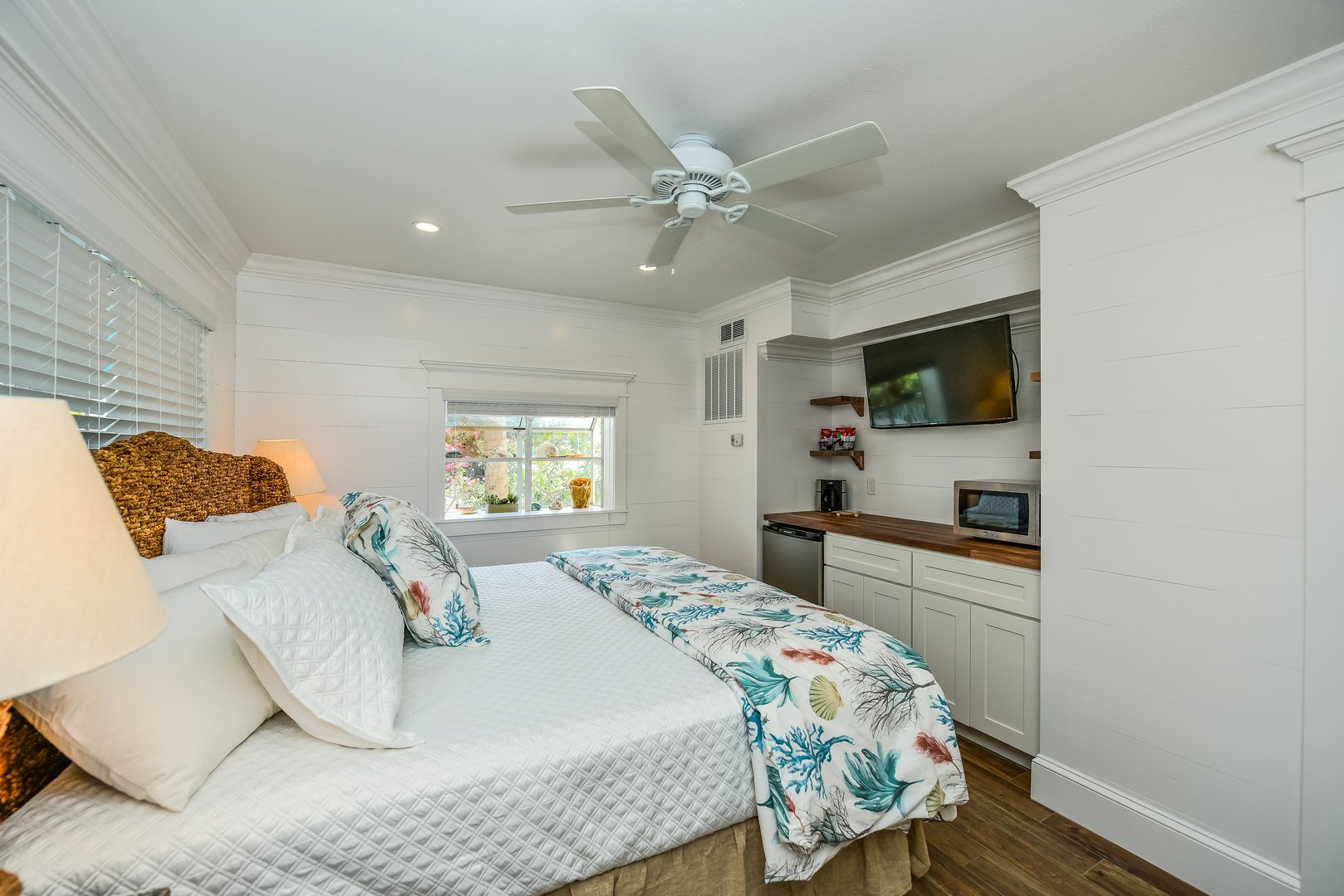Completely Remodeled Room - Old Florida Feel