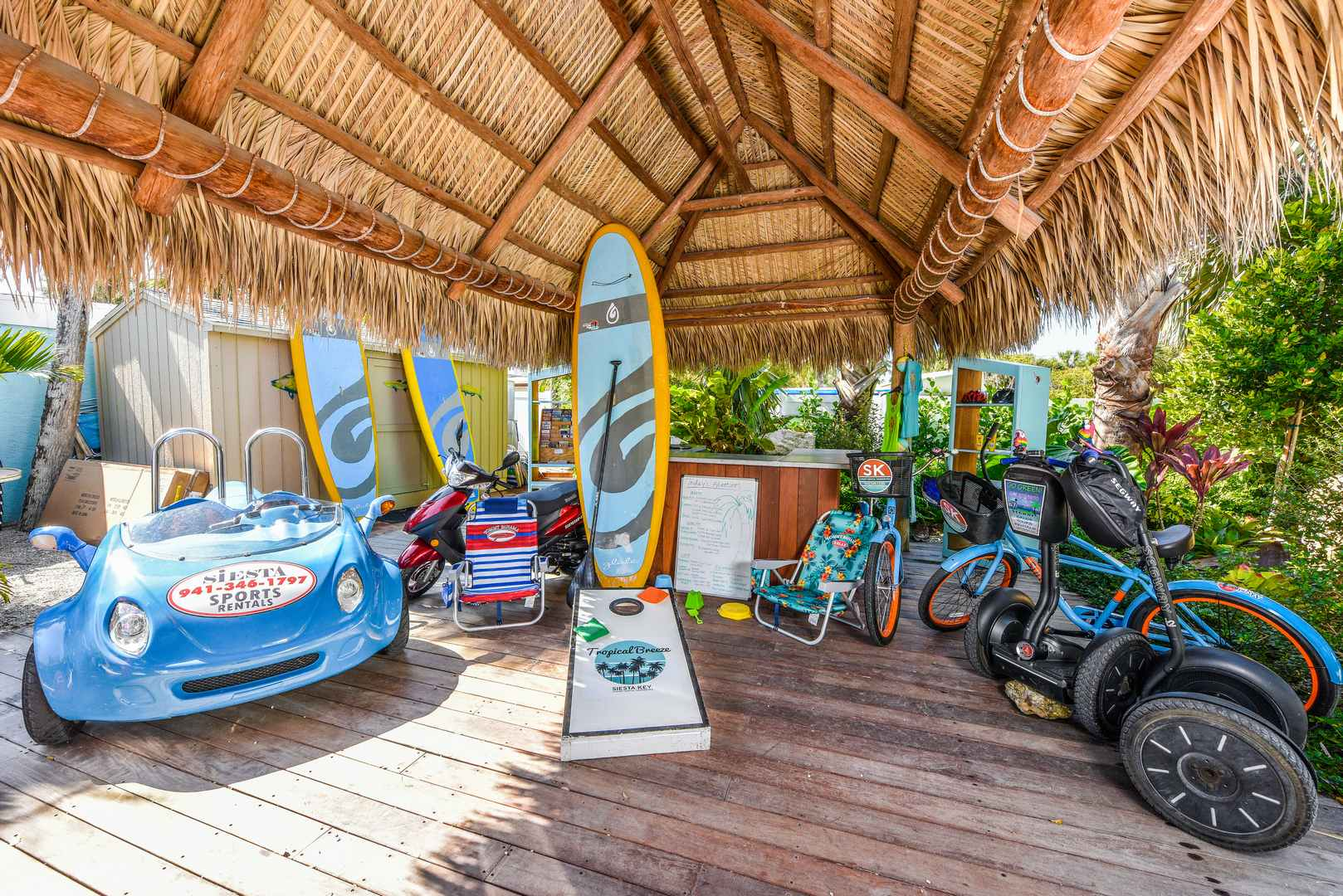 Great activities to book at the Adventure Tiki