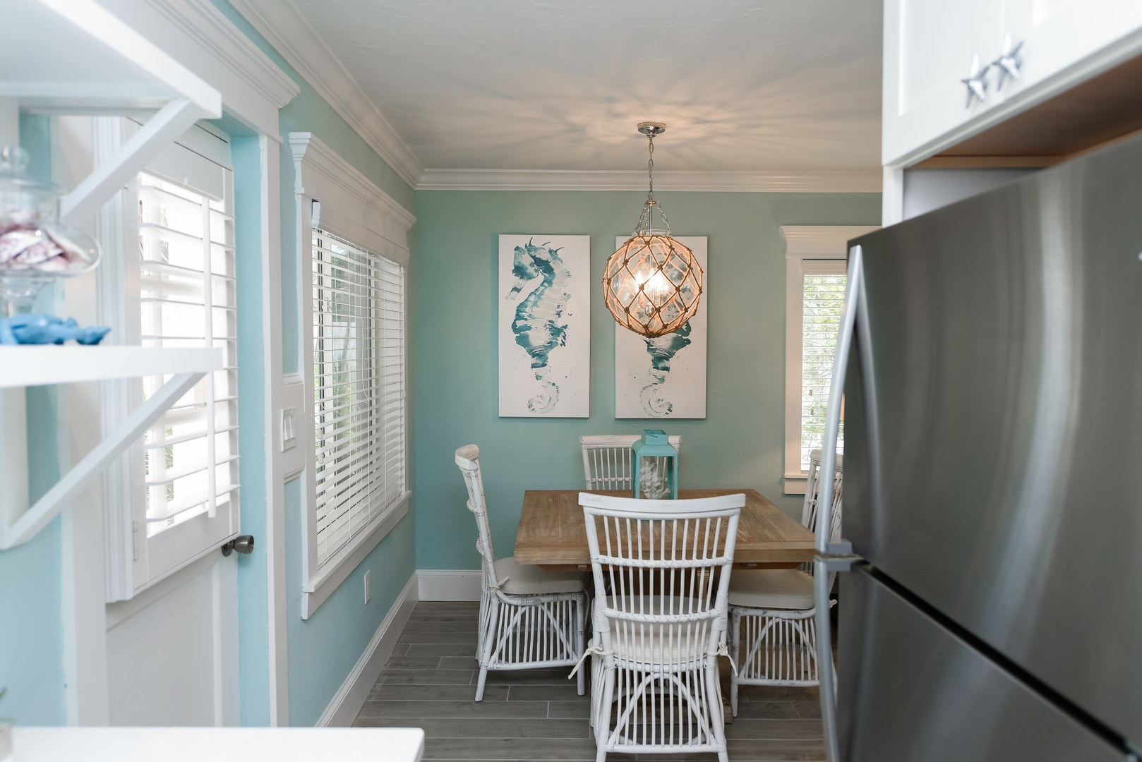Dining Area leads into the Kitchen