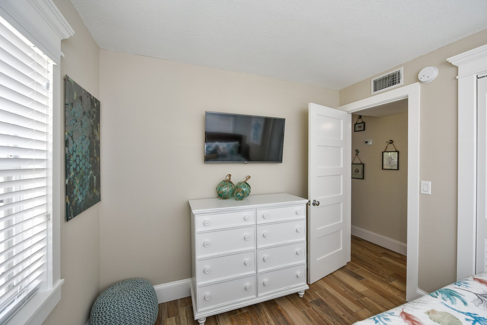 Large HDTV in Every Bedroom