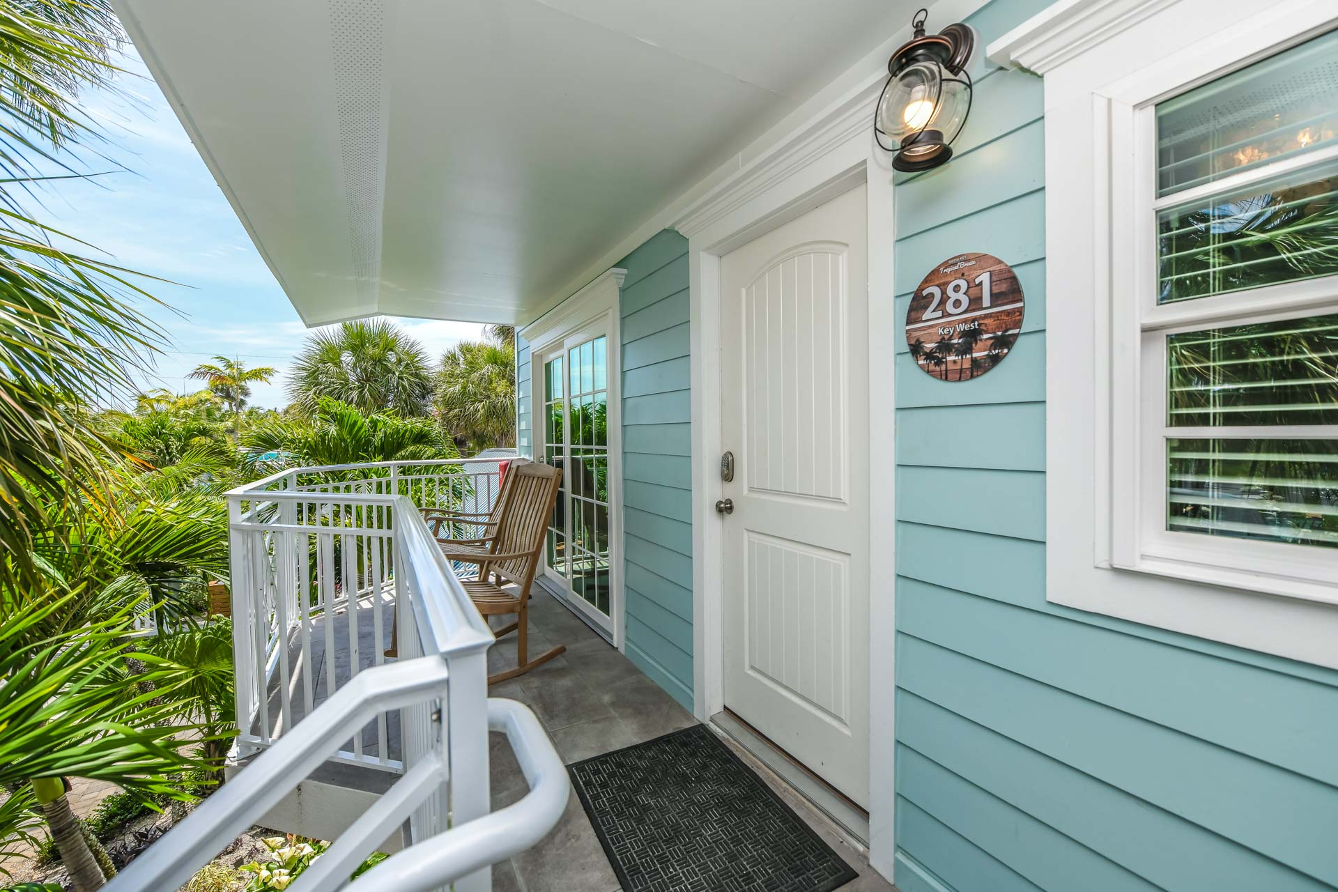 Entrance to Your 2 Bedroom Resort Room with Private Balcony