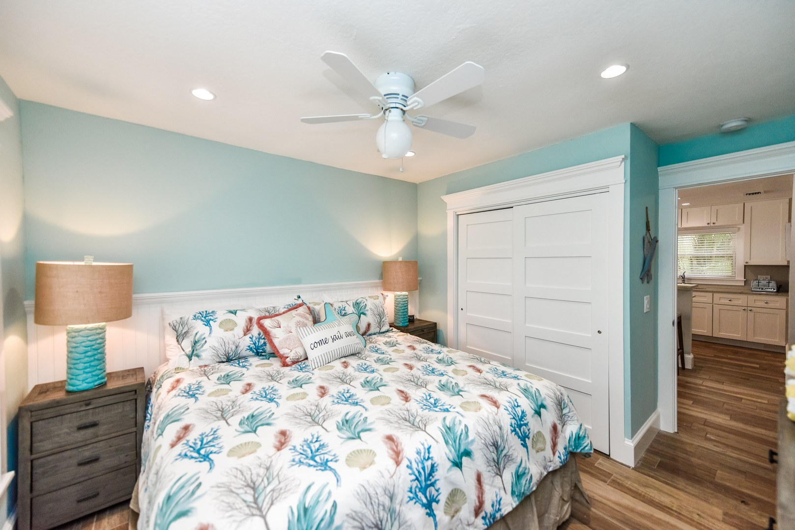 Great Bedroom Space with Storage