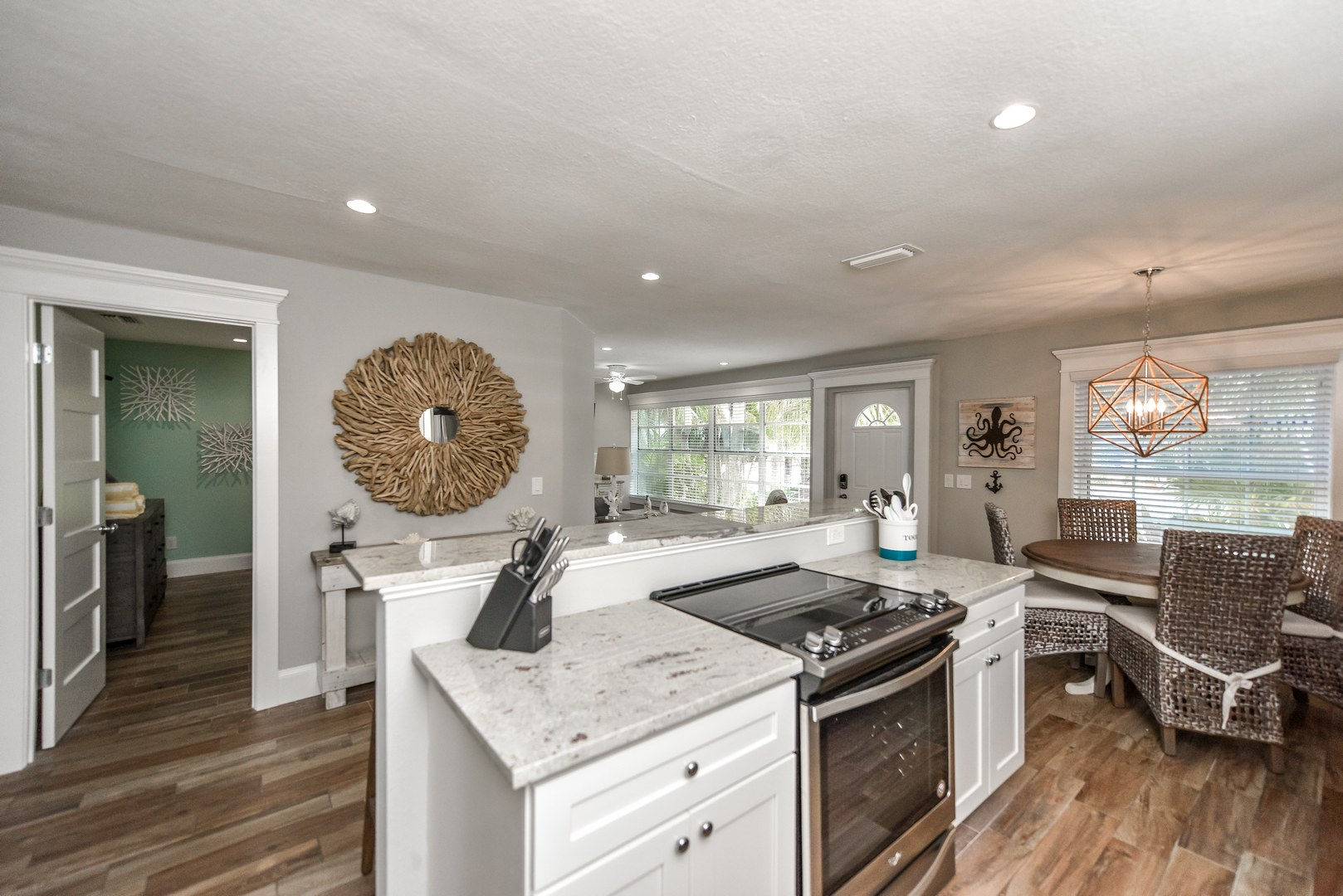 Great Room Style Room - Kitchen, Dining, Living