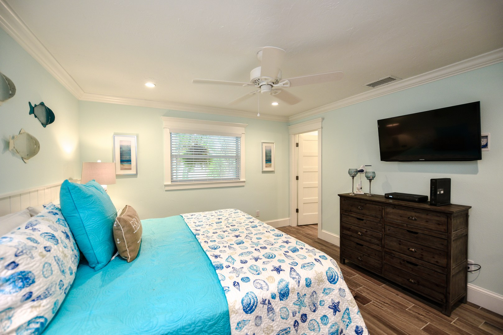 What a Master Bedroom! Plenty of Space