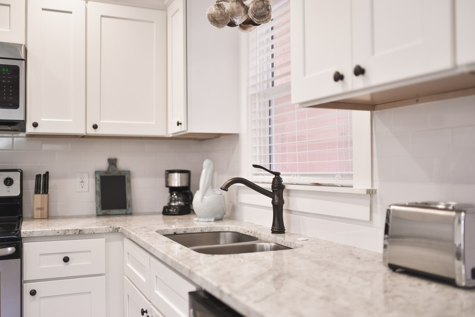 Beautiful Kitchen Counter Tops and Dual Sink