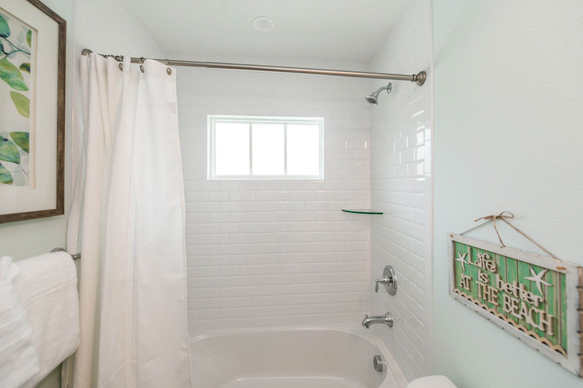 Bathroom 1- Shower/Bathtub Combination