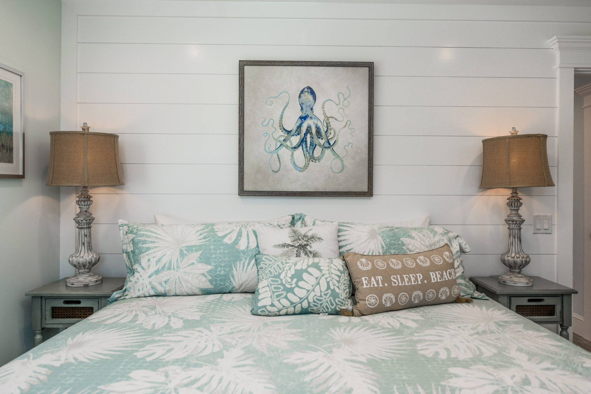 Bedroom 2- Nautical Inspired Decor