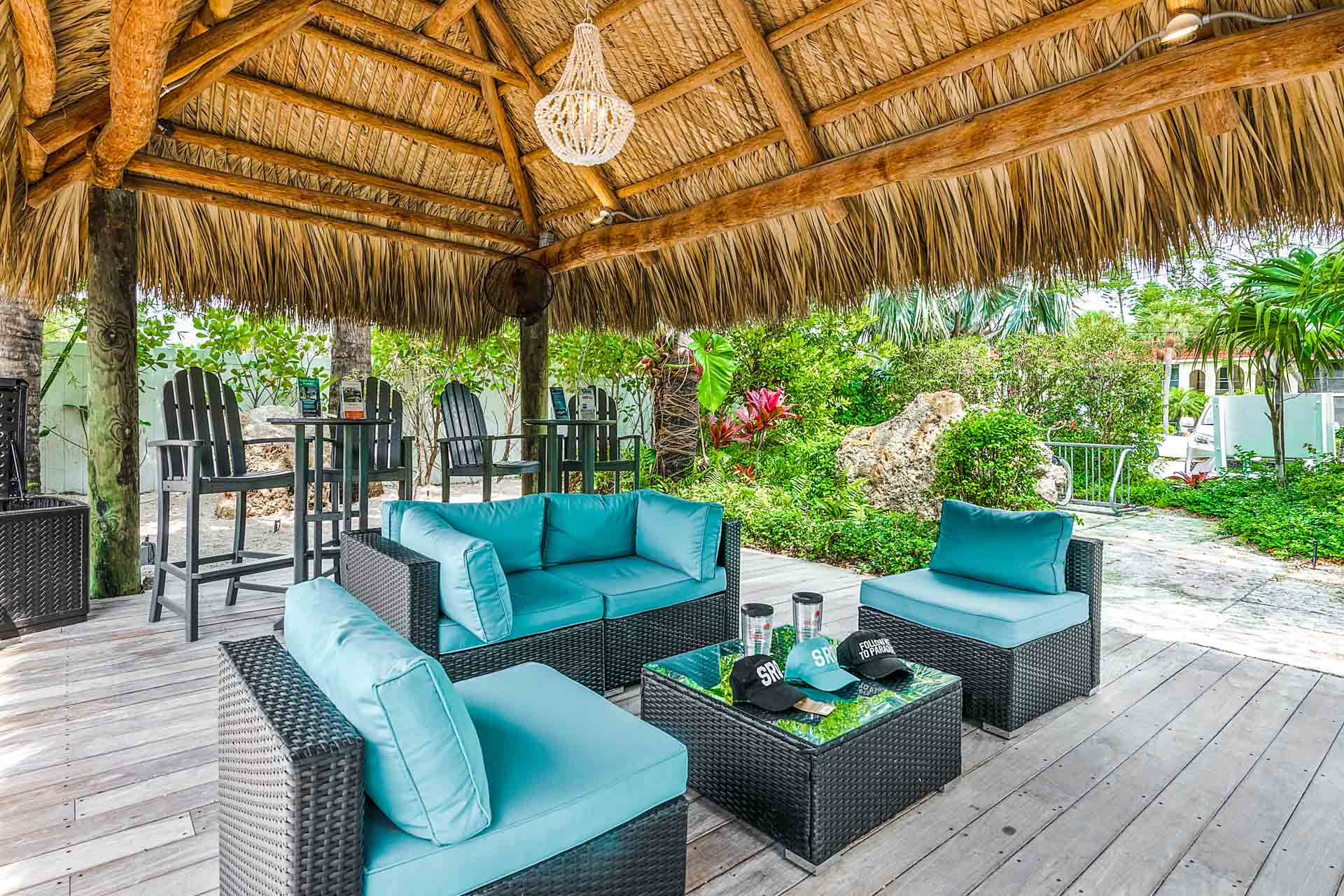 Adventure Tiki Area - Just Relax Here or Plan an Excursion