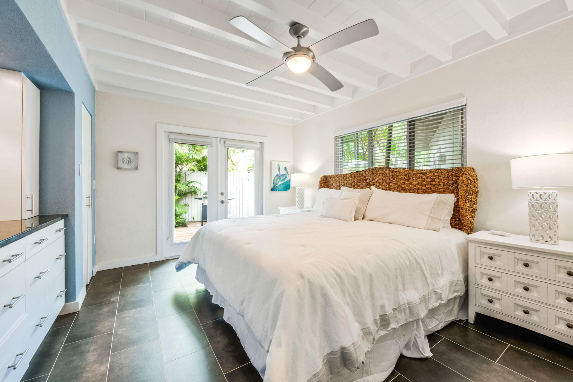 King Bedroom with Patio Access