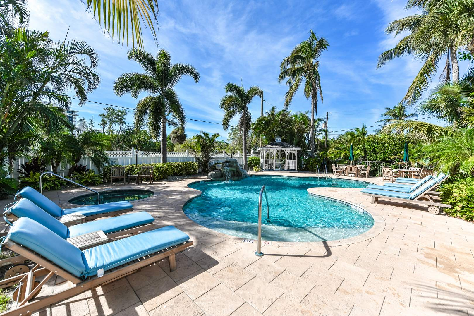 Large Community Pool and Spa